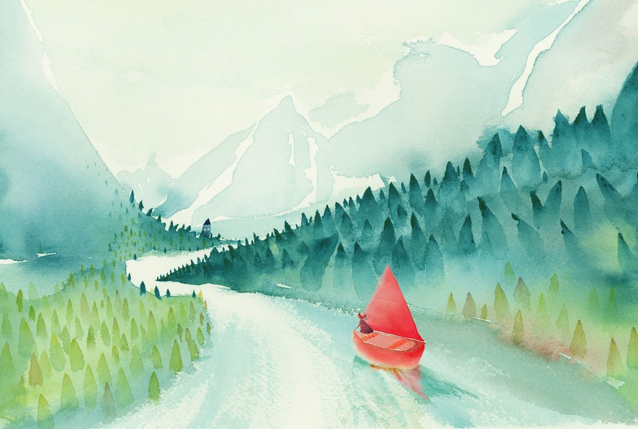 Cindy Derby Girl Red Boat