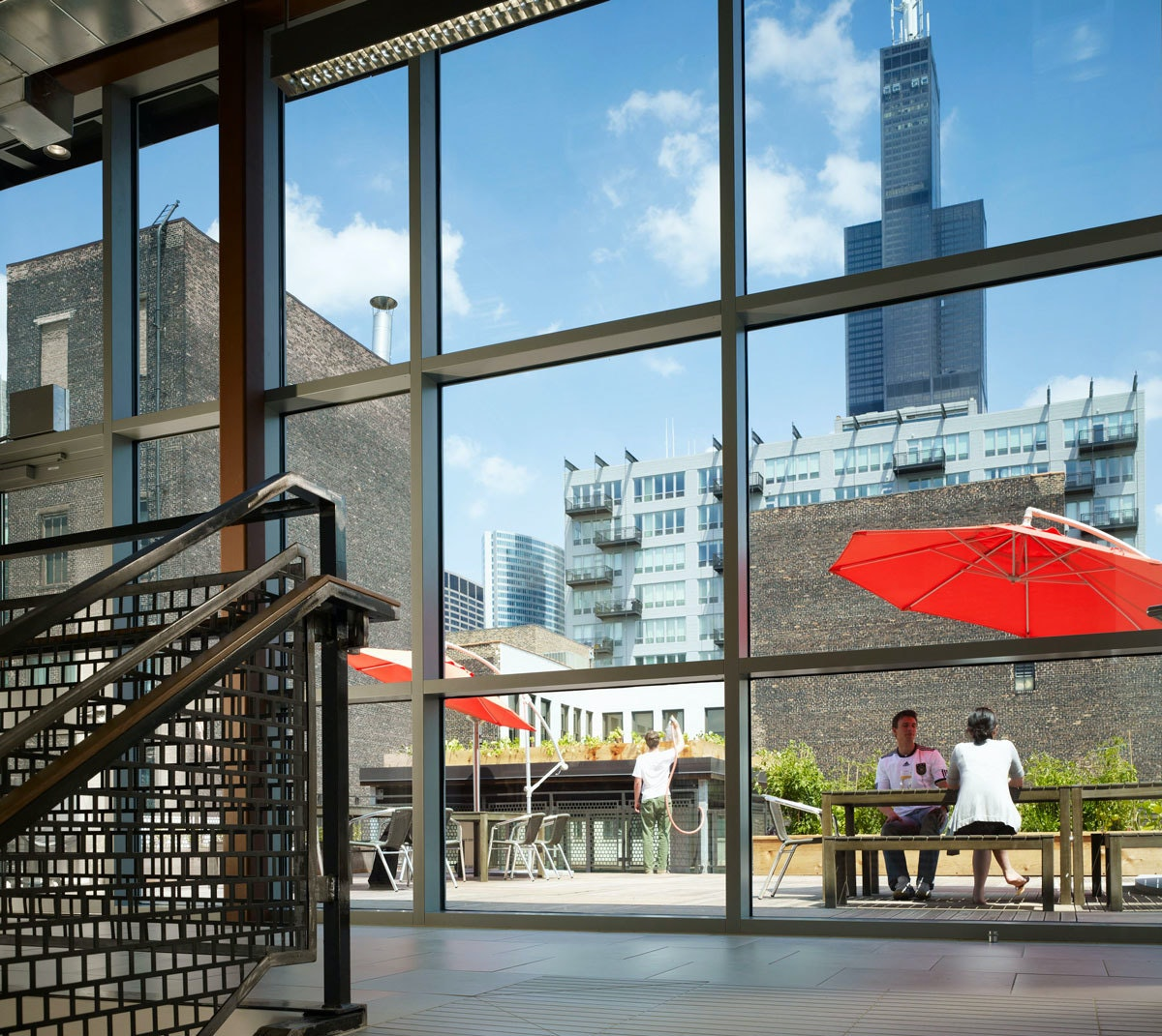 Ideo Chicago 2010 Stairwell Roofdeck