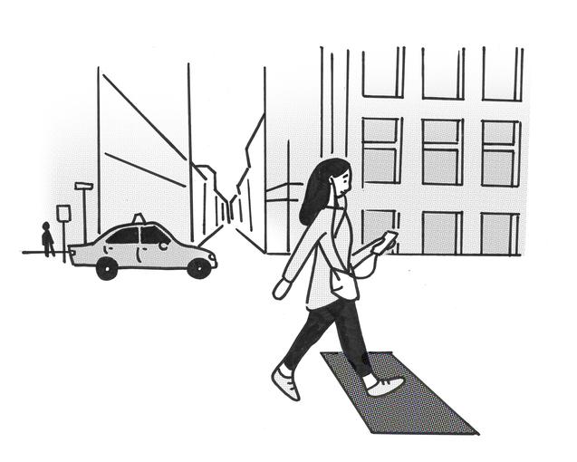 Maximize Your Commute Walking Girl