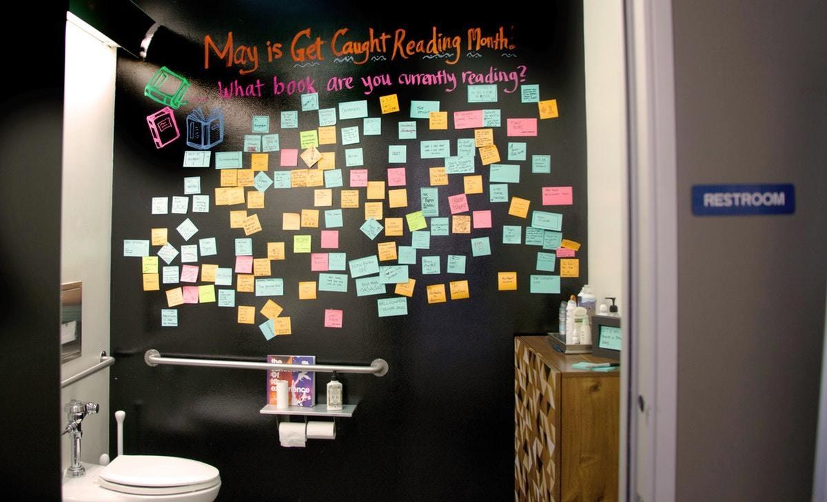 San Francisco Bathroom Post Its