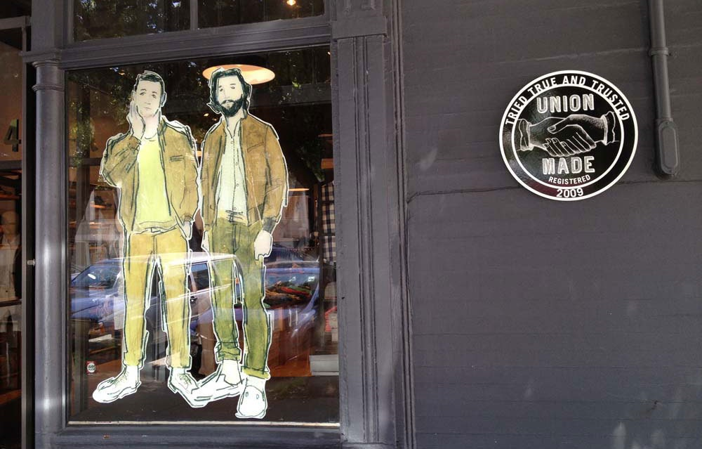Window Display Union Made