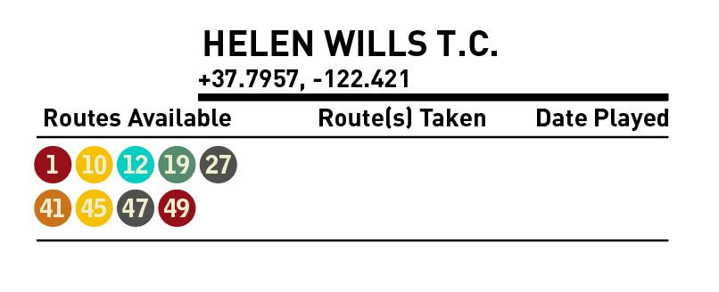 Bus To Court Helen Wills