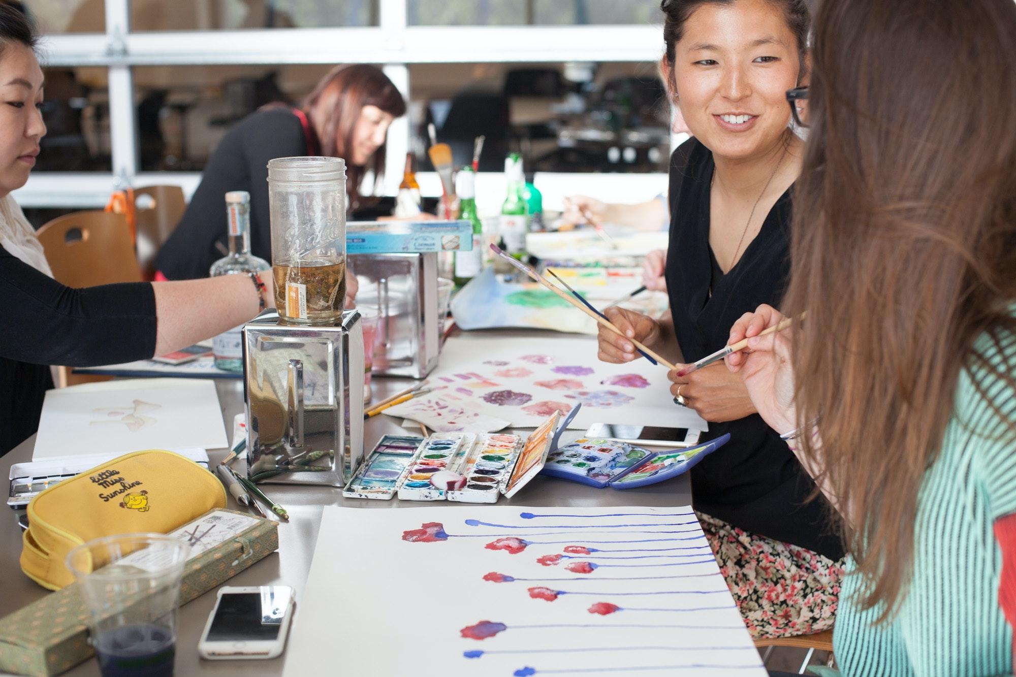 Creative Workspaces Watercolor