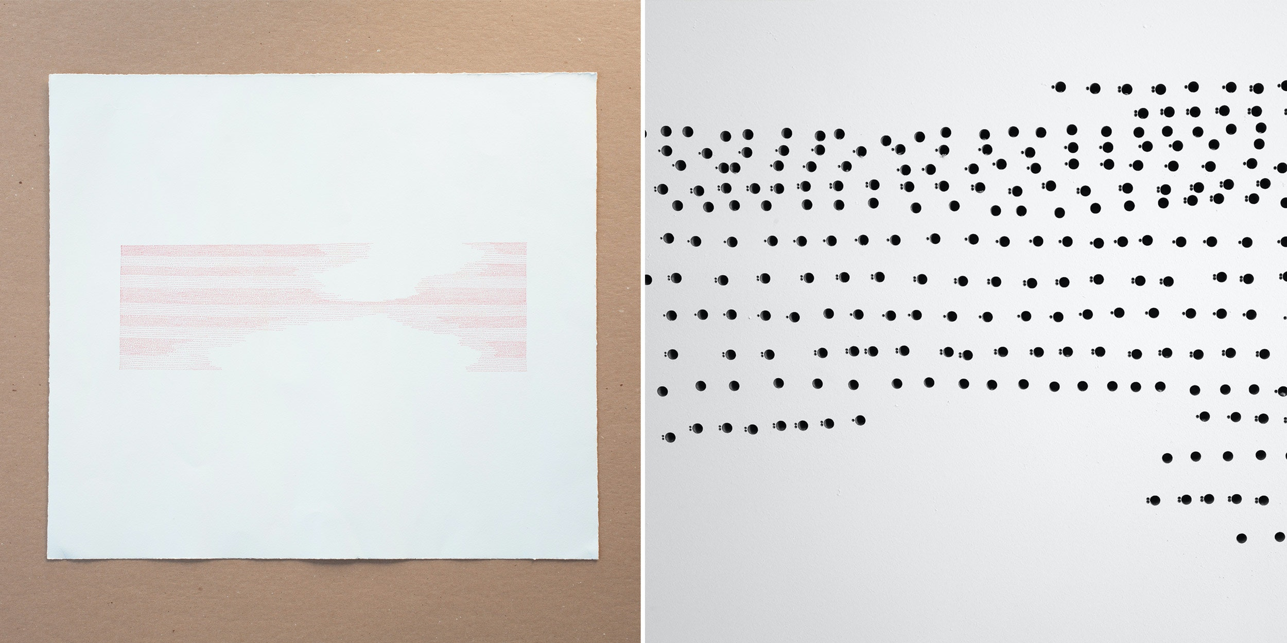 Drawing Dots For Mural