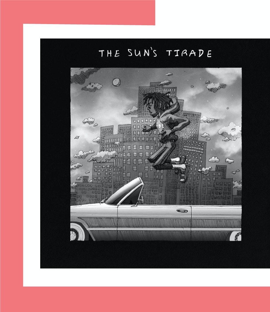 Isaiah Rashad The Suns Tirade Album Stream Bw Border