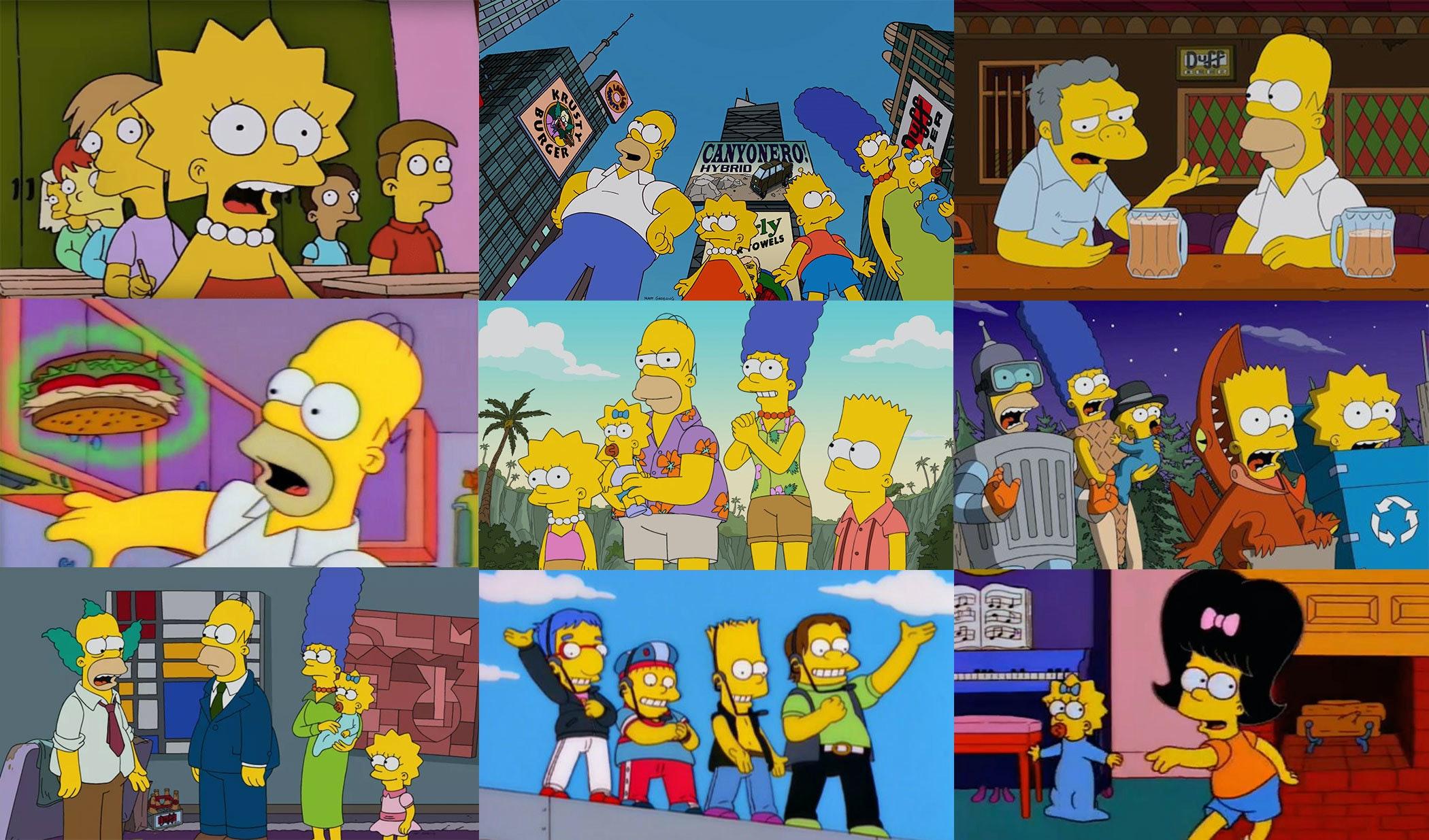 Simpsons Grid