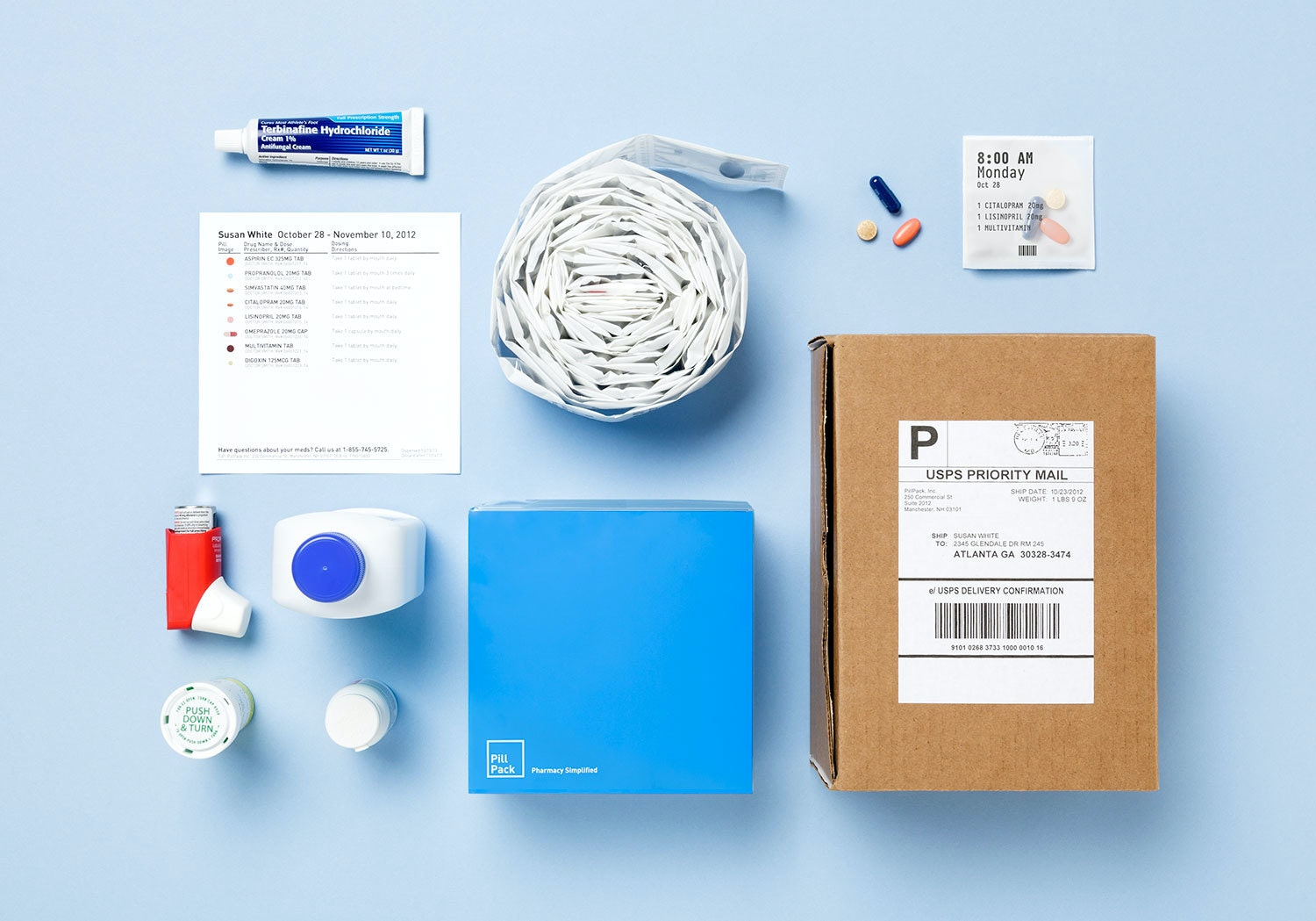 Disrupting The Drugstore Pill Pack Shipment