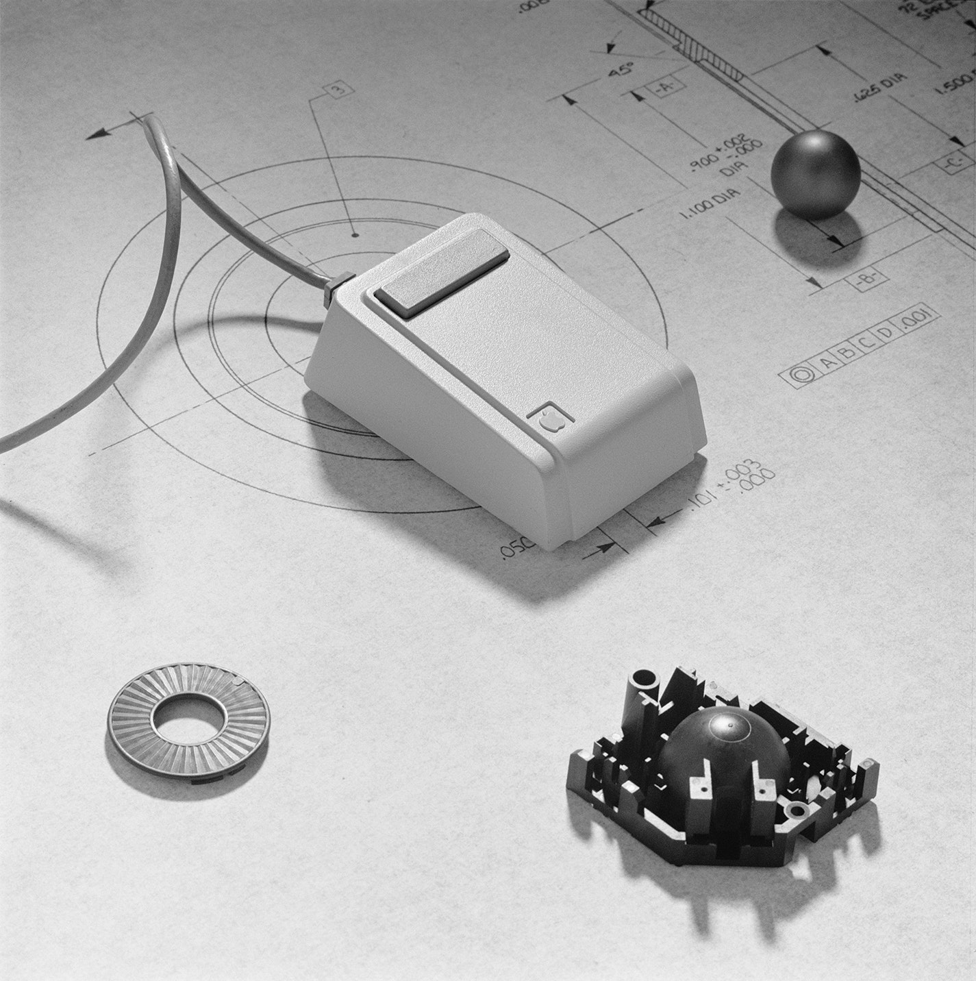 Mouse Apple Mouse Bw Copy
