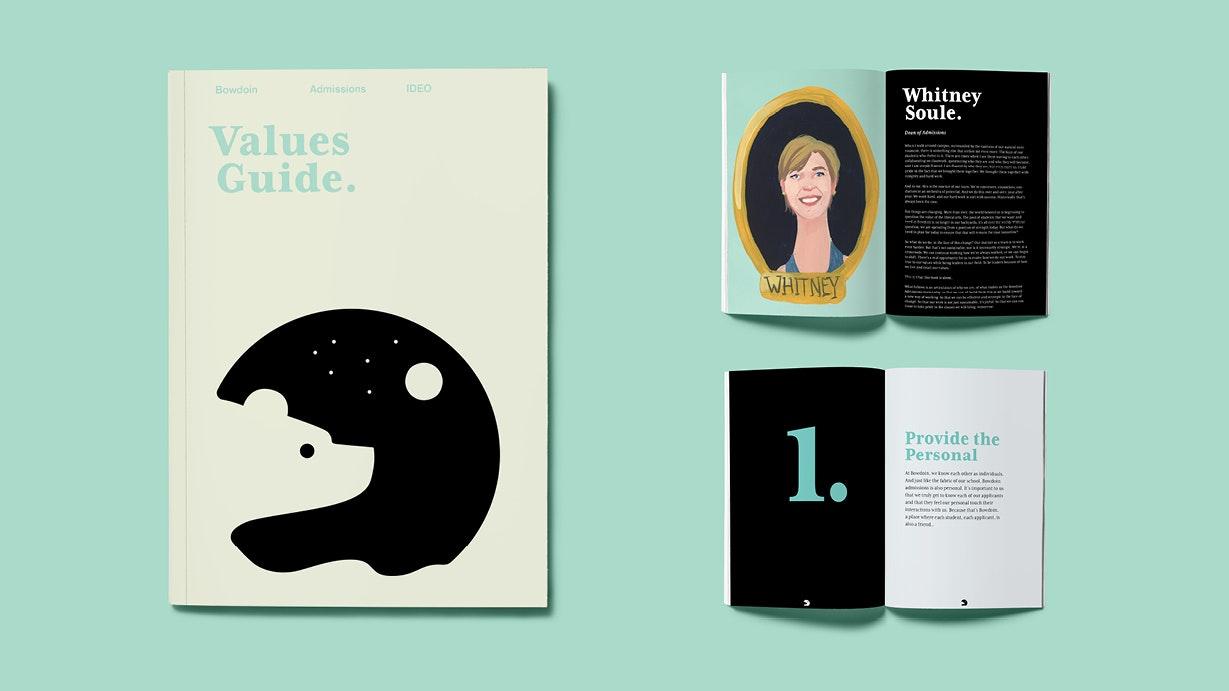 Bowdoin Values Book