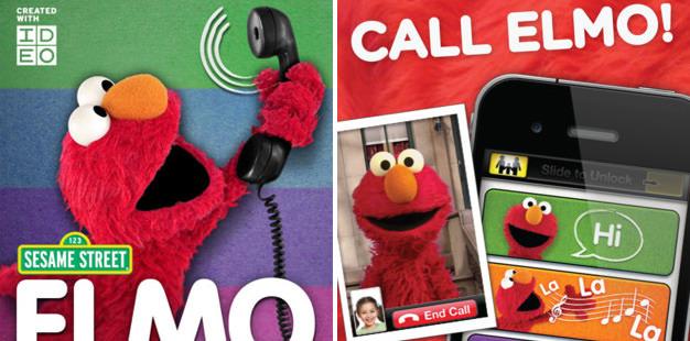 Elmo Calls 626Px Mini