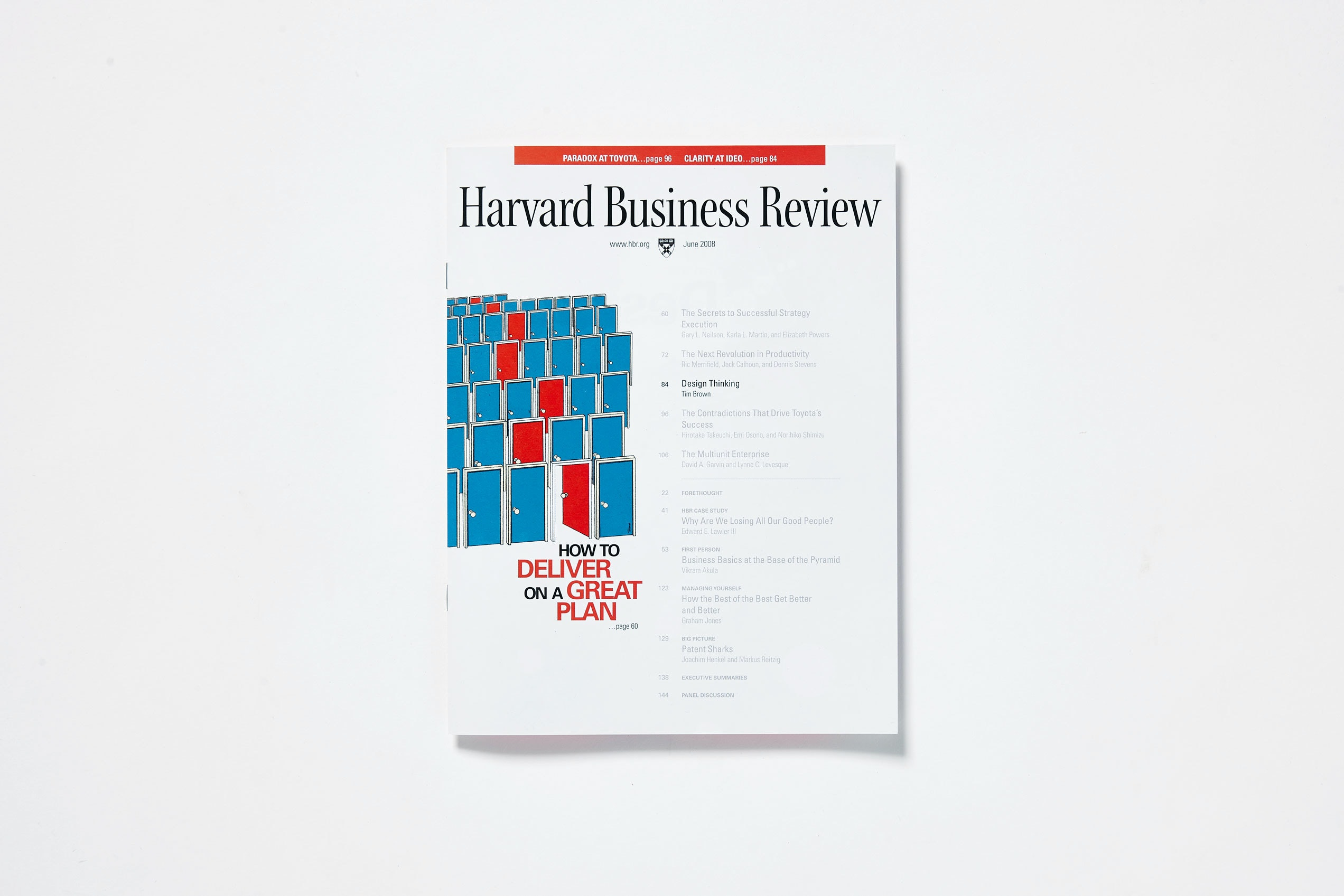Design Thinking In Harvard Business Review  IdeoCom