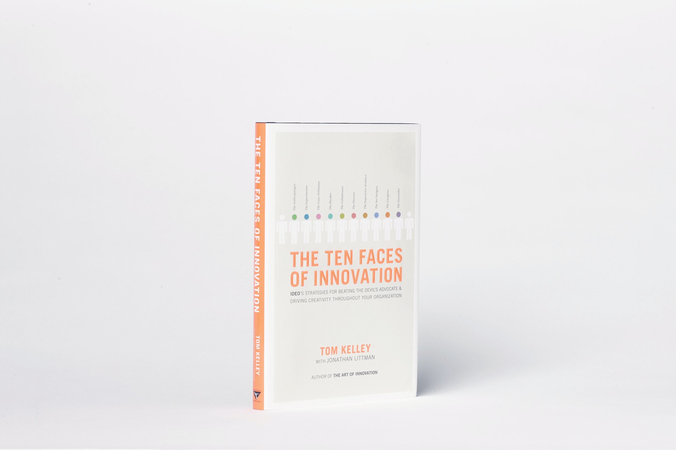 Ideo Books Ten Faces Of Innovation